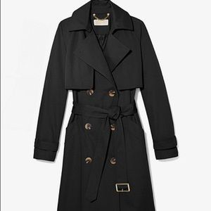 Michael Kors brand new wool lined trench coat